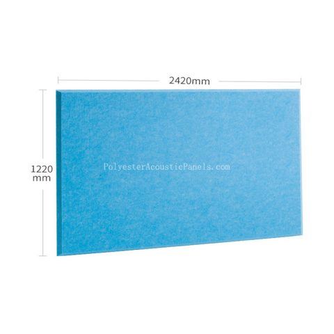 acoustic absorption panels polyester fiber compressed polyester for sound absorption