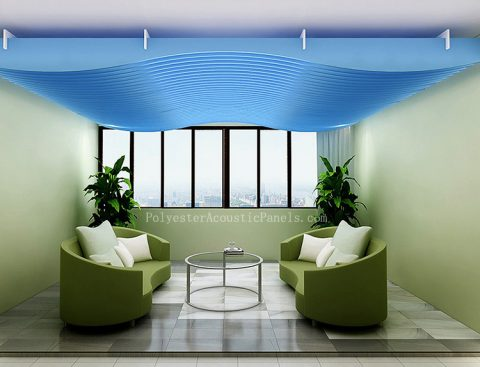 acoustic ceiling panels polyester fiber acoustic ceiling board