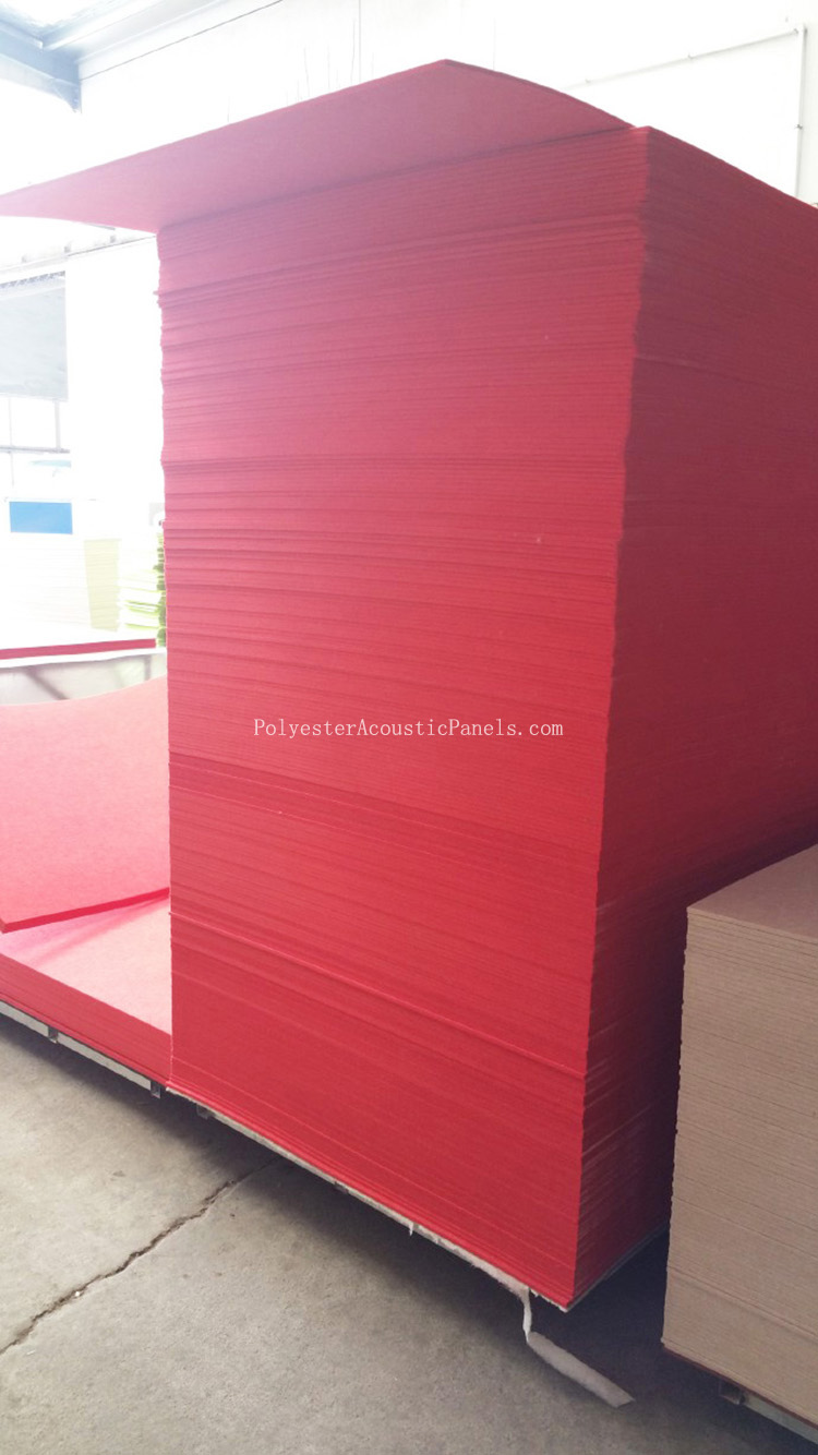 Acoustic Fibre Panel Poly Fibre Acoustic Panels Sound Absorbing Polyester Panel