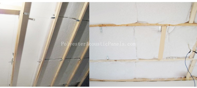Acoustic Insulation Sound And Heat Insulation Materials From Polyester Fibers