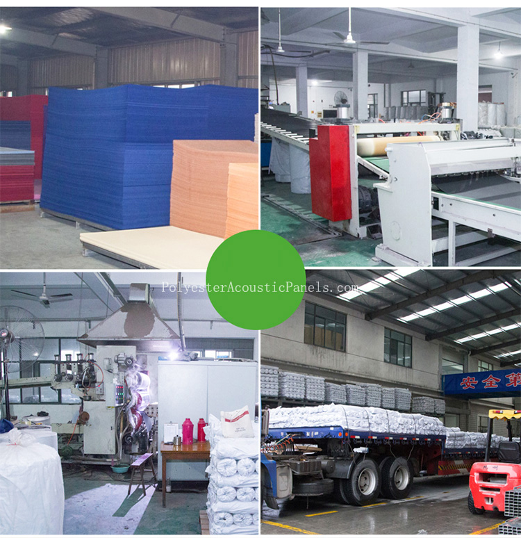 Acoustic Pads For Walls Polyester Padding For Acoustic Wall For Interior Panneling