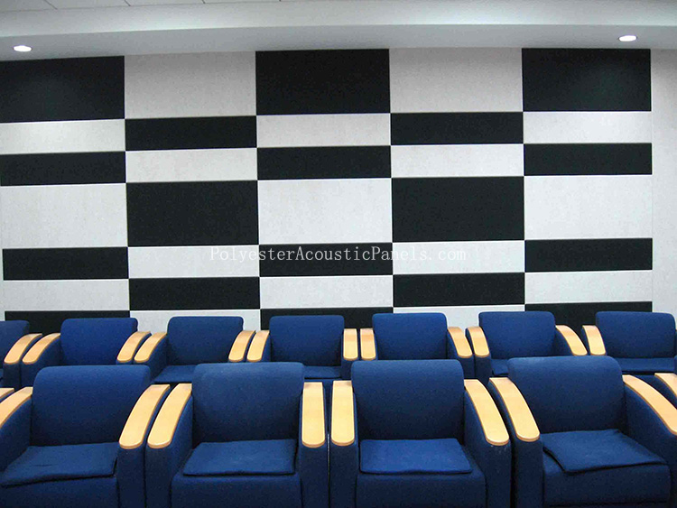Black Acoustic Panels Manufacturer For Polyester Acoustic Panel