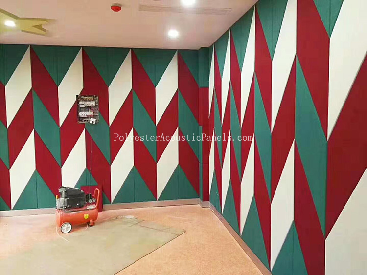 Decorative Acoustic Panels Polyester Residential Large 4 X 8 Acoustic Panels