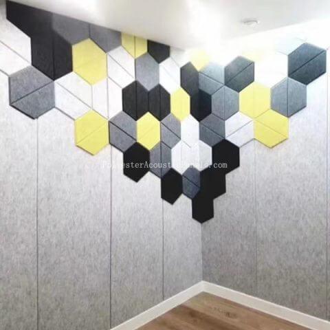 hexagon sound absorbing panels