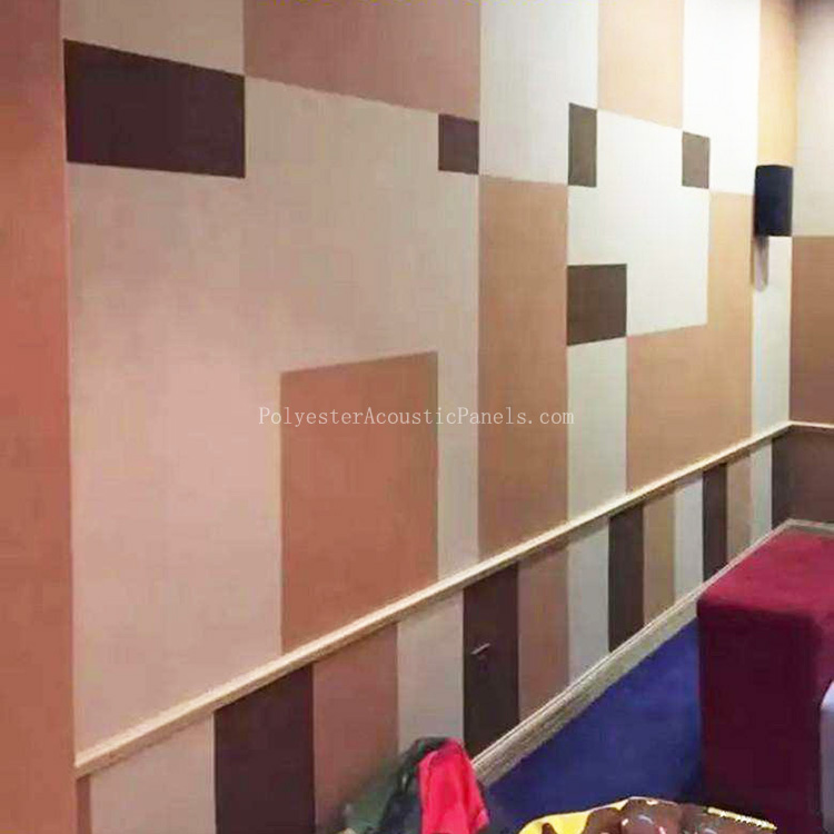 Noise Dampening Panels Polyester Fiber Acoustic Panels For Sound Dampening