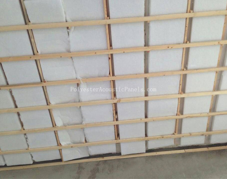 Noise Insulation Panels Acoustic Polyester Insulation Nonwoven Panel