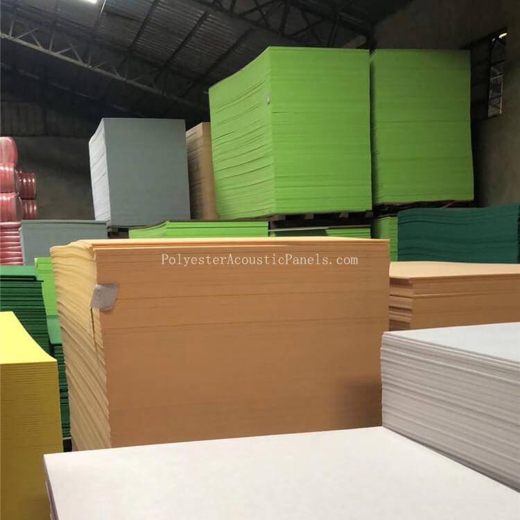 Polyester Fibre Panels Nonwoven 9Mm Non Woven Polyester Fibre Panels Providers