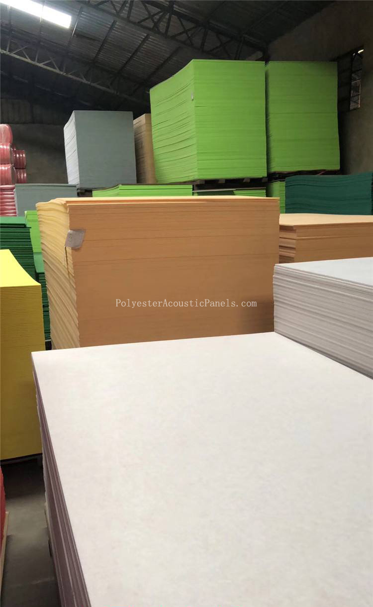 Polyester Sheets 100 Polyester Flat Sheets Acoustic Sound Absorption Sheets