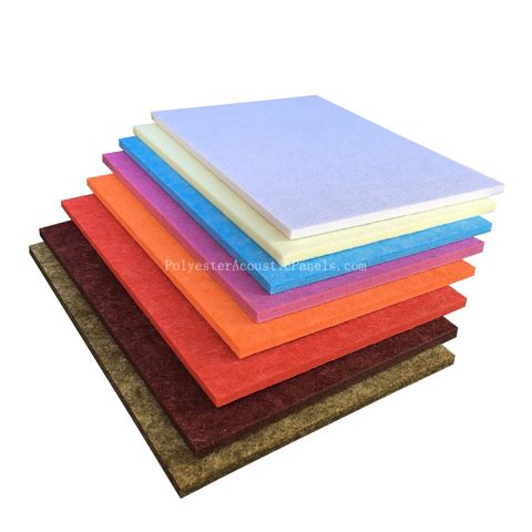 polyester sound absorbing panels polyester fibre sound absorbing panels eco friendly