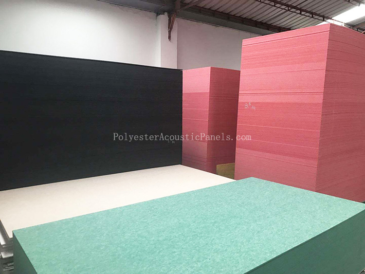 Polyester Wall Panels PET Acoustic Poly 100 Polyester Fibre Wall Panels
