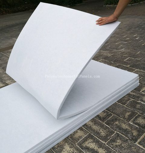 polyester wool panels acoustic wall polyester fiber wool acoustic panel