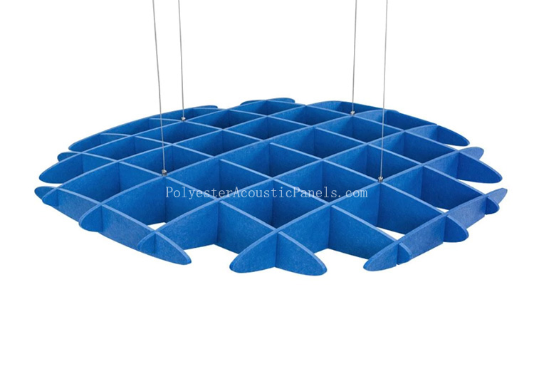 Sound Absorbing Ceiling Panels Polyester Sound Absorbing Ceiling Tiles