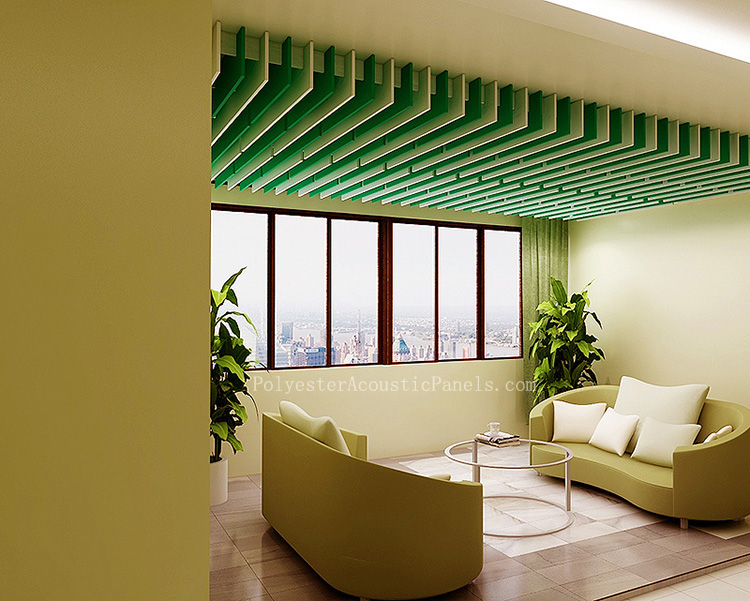 Suspended Acoustic Panels Hanging Sound Absorbing Panels Acoustic Baffle Panels